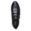 Chaussure femme en cuir avec boucles sundrops, Noir, 524-6357 - 19