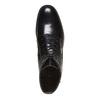 Bottine en cuir à lacets bata, Noir, 594-6100 - 19