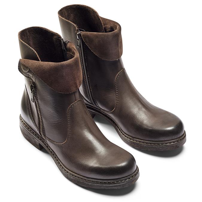 Chaussures Femme weinbrenner, Brun, 594-4874 - 19