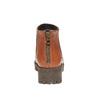 Bottine en cuir à semelle épaisse bata, Brun, 694-3158 - 17