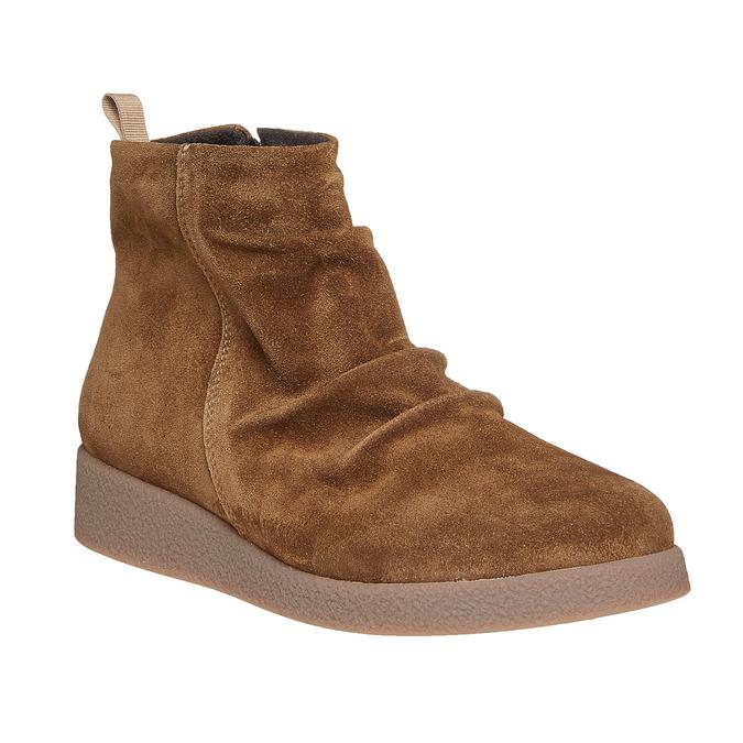 Chaussures Femme flexible, Brun, 593-3577 - 13