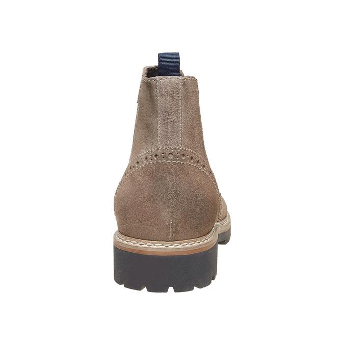 Chaussures en daim Chelsea bata, Brun, 893-2373 - 17