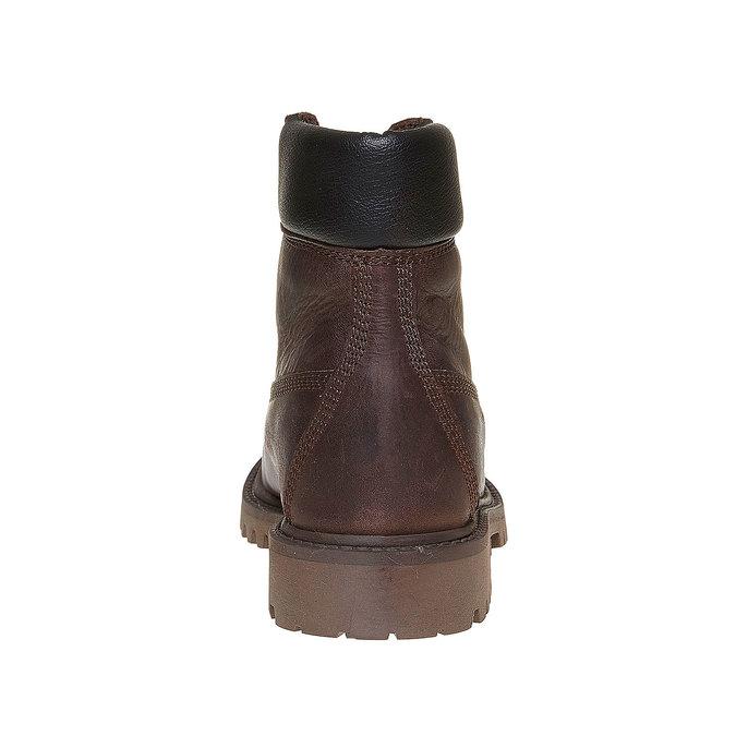 Chaussure en cuir pour enfant weinbrenner-junior, Brun, 394-4182 - 17