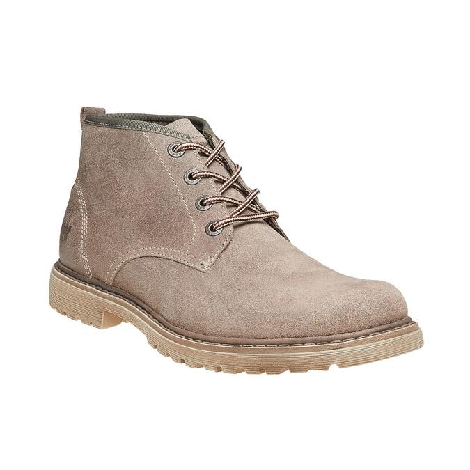 Chaussures en daim weinbrenner, Gris, 893-2113 - 13