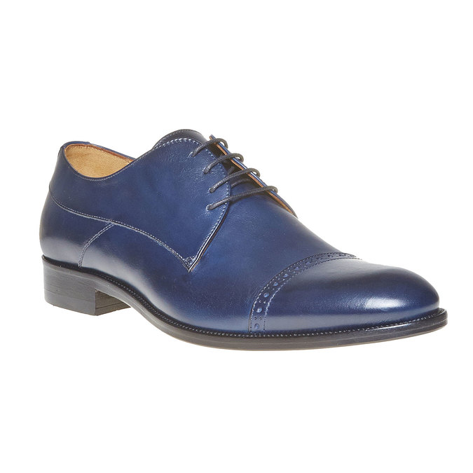 Derby en cuir bata-the-shoemaker, Violet, 824-9296 - 13