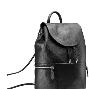 Backpack bata, Noir, 964-6259 - 13