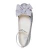 Ballerine argentée à nœud mini-b, Gris, 329-2241 - 19