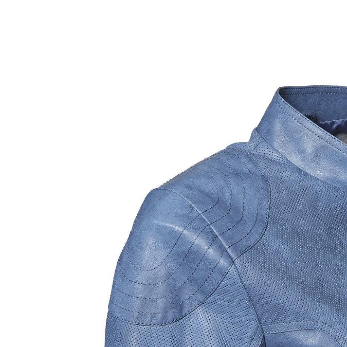 Veste perforée femme bleue bata, Violet, 971-9113 - 16