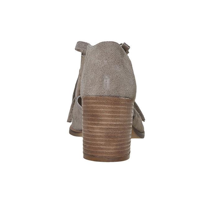 Sandale à franges femme bata, Jaune, 763-8519 - 17