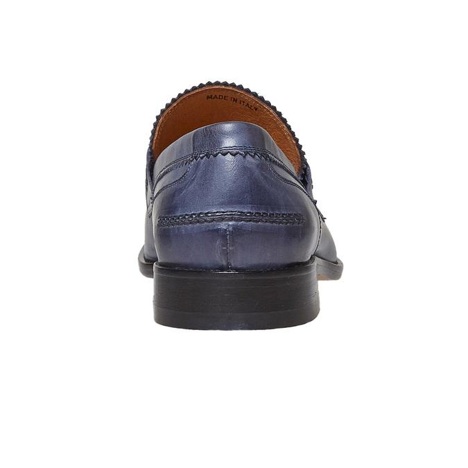 Penny Loafer en cuir bata-the-shoemaker, Violet, 814-9160 - 17