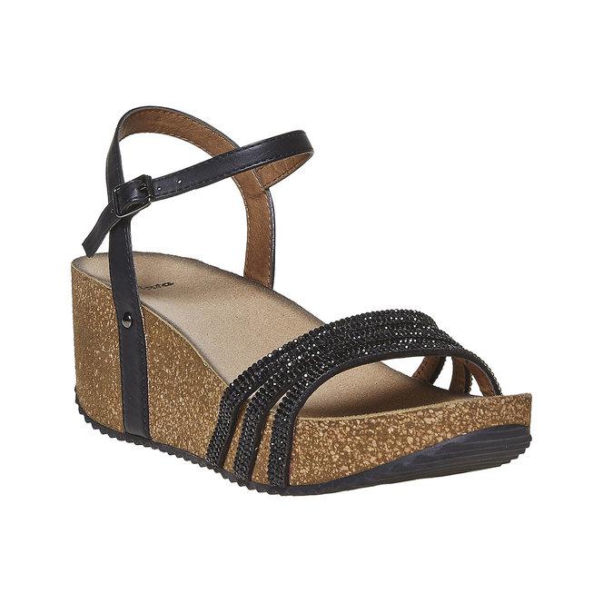 Chaussures Femme bata, Noir, 661-6213 - 13