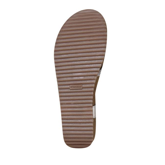 Chaussures Femme bata, Gris, 661-2213 - 26