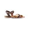Sandale en cuir pour femme weinbrenner, Brun, 564-4254 - 13