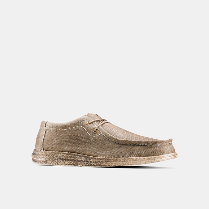 Men's shoes bata, Beige, 859-2280 - 13