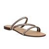 Sandale femme avec petites pierres bata, Jaune, 571-8169 - 13