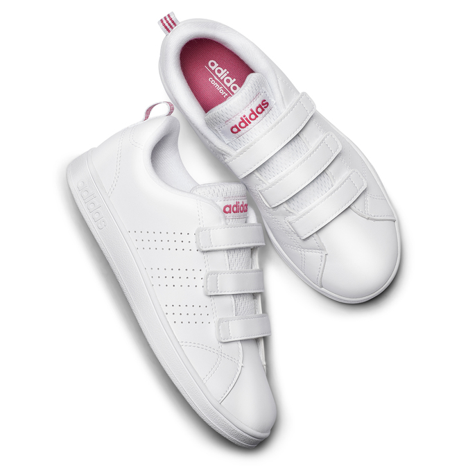 Childrens shoes adidas, Blanc, 301-1268 - 19
