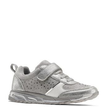 Childrens shoes mini-b, Gris, 329-2295 - 13