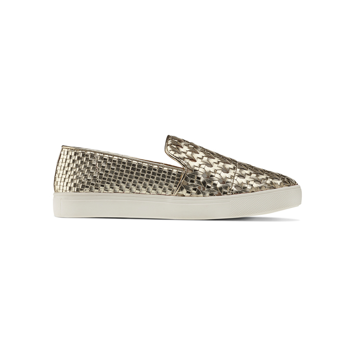 Slip-on dorée femme north-star, Jaune, 541-8324 - 26