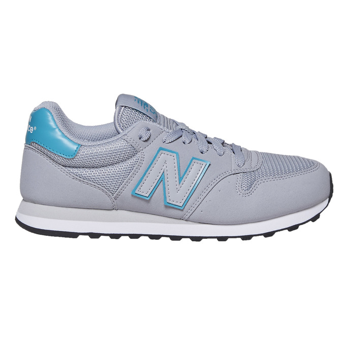 Childrens shoes new-balance, Gris, 509-2600 - 15