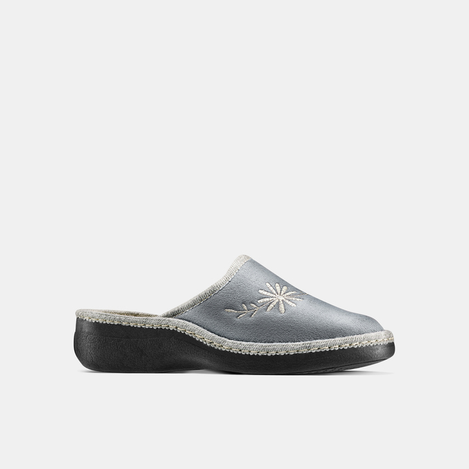 Women's shoes bata, Gris, 579-2280 - 13