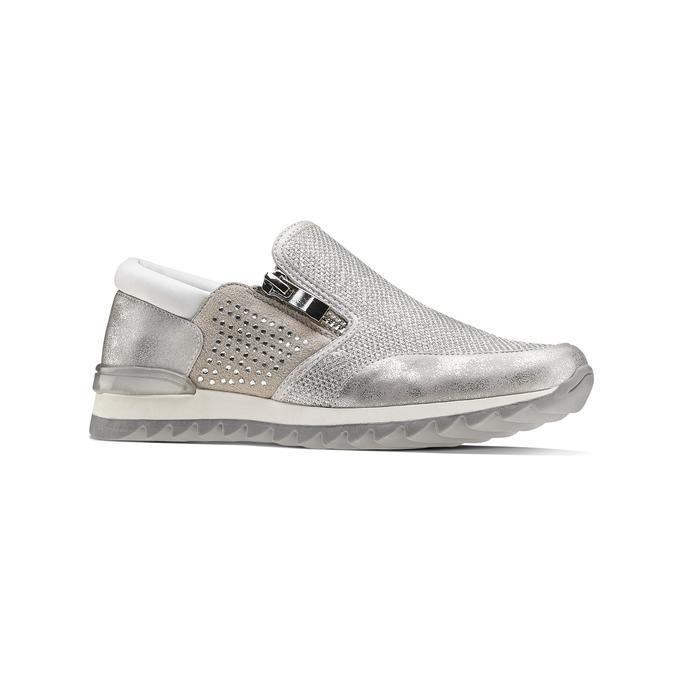 Childrens shoes mini-b, Blanc, 329-1298 - 13