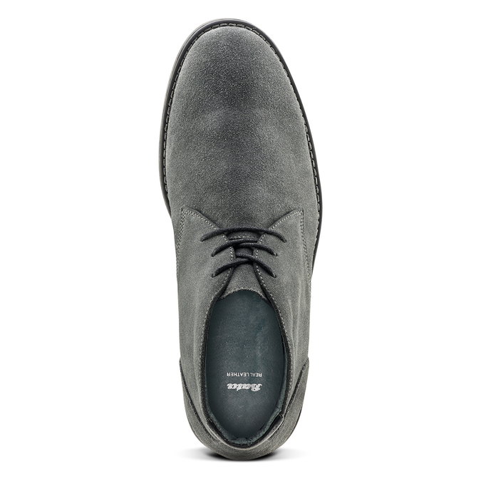 Chaussures Homme bata, Gris, 843-2380 - 15