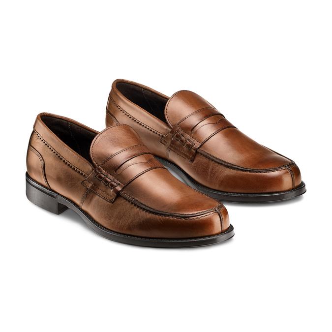 Men's shoes bata, Brun, 814-3175 - 16