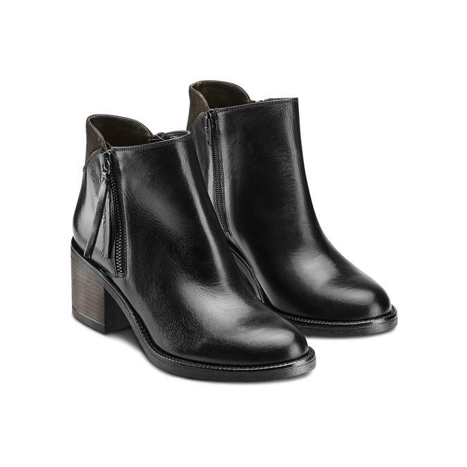 Women's shoes bata, Noir, 694-6421 - 16