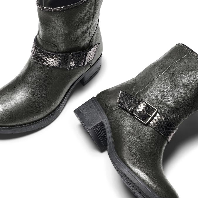 BATA Chaussures Femme bata, Gris, 694-2420 - 19