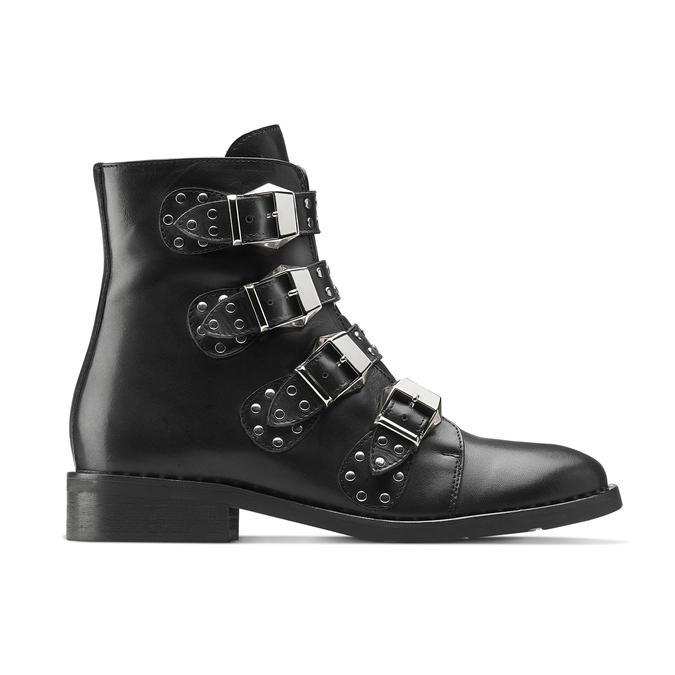 Women's shoes bata, Noir, 594-6192 - 26