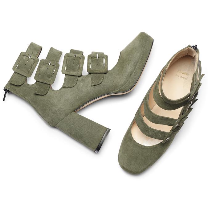 BATA Chaussures Femme bata, Vert, 723-7984 - 19