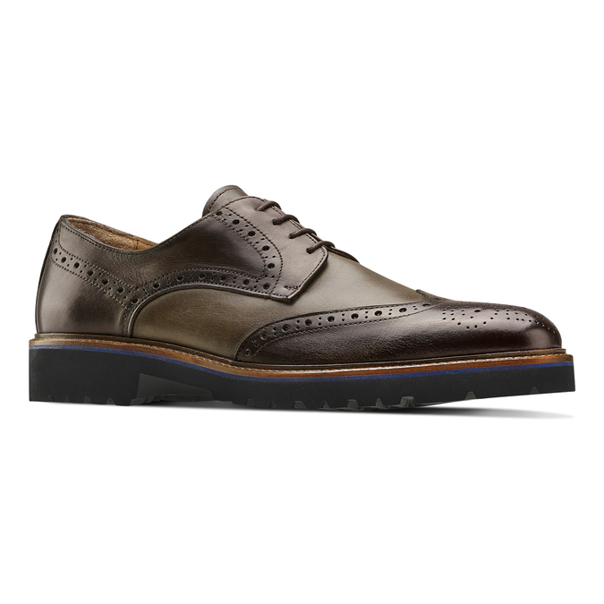 Men's shoes bata-the-shoemaker, Brun, 824-4186 - 13