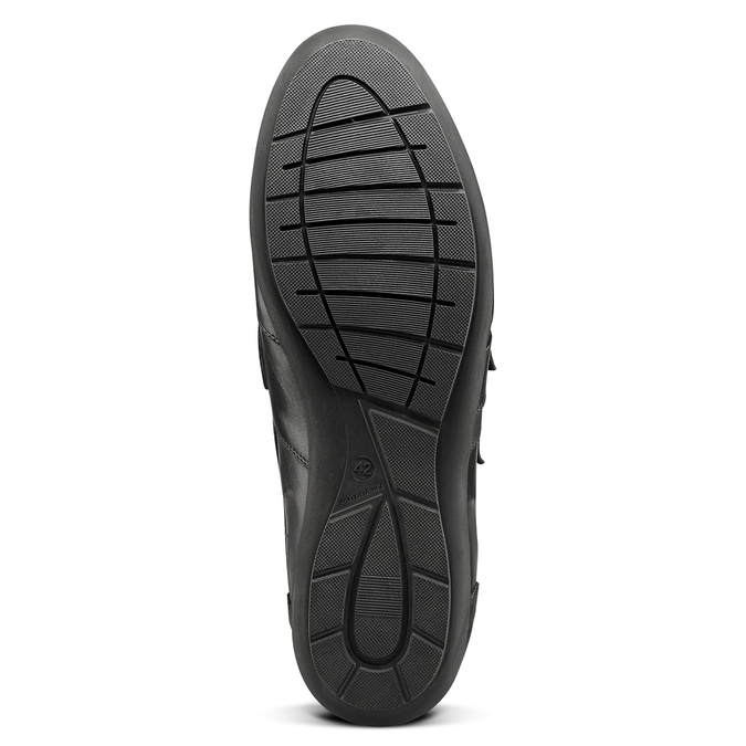 Men's shoes bata, Noir, 844-6729 - 17