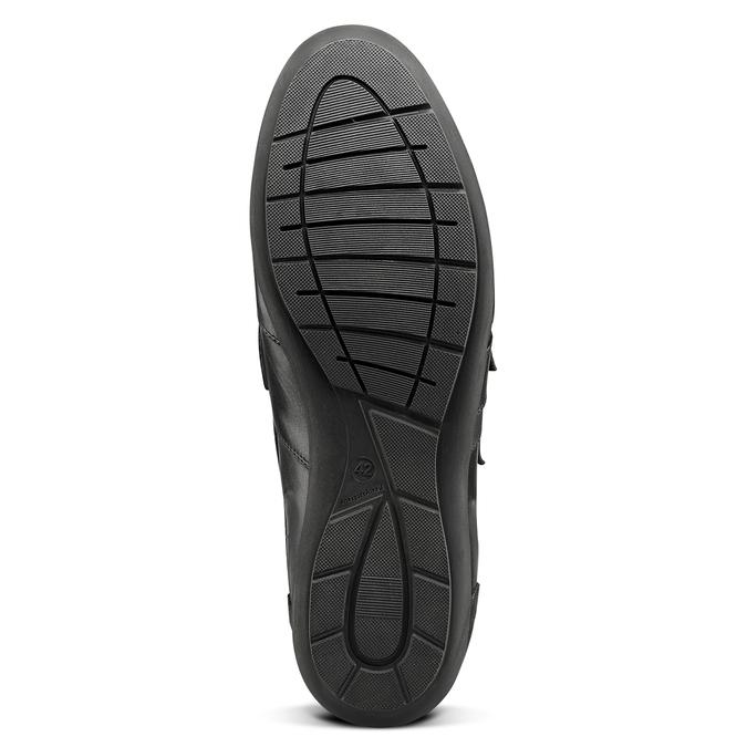 BATA Chaussures Homme bata, Noir, 844-6729 - 17