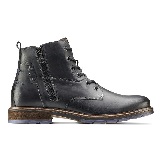 Men's shoes bata, Noir, 894-6718 - 26