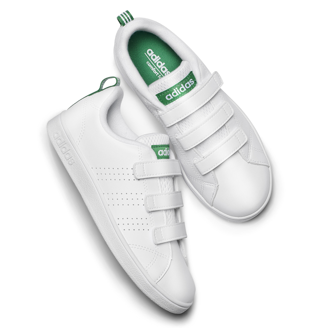 Childrens shoes adidas, Blanc, 301-1168 - 19