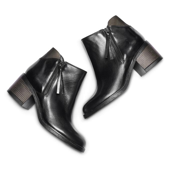 Women's shoes bata, Noir, 694-6421 - 26