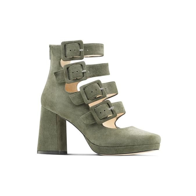 BATA Chaussures Femme bata, Vert, 723-7984 - 13