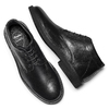 Men's shoes, Noir, 844-6724 - 19