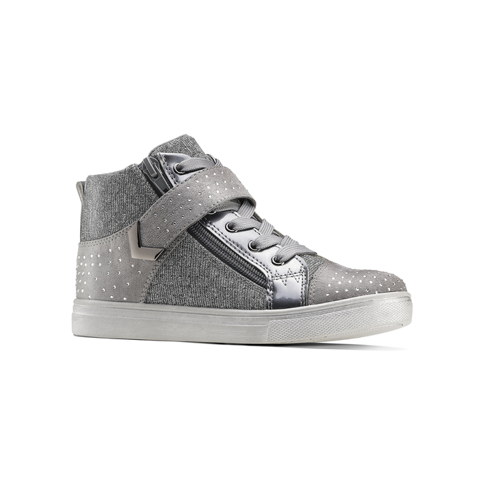Childrens shoes mini-b, Gris, 329-2303 - 13