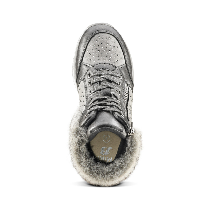 Childrens shoes mini-b, Gris, 329-2287 - 15