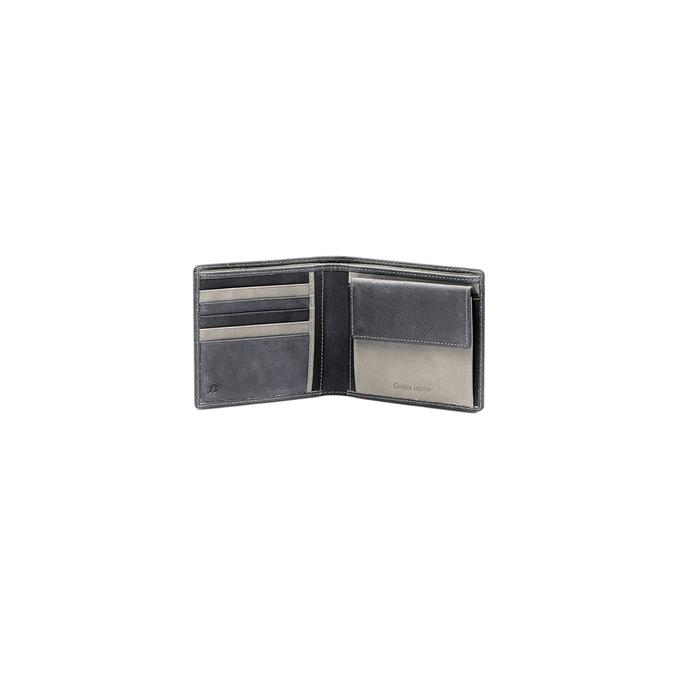 Portefeuille en cuir pour homme bata, Noir, 944-6135 - 16