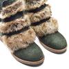 Women's shoes bata, Vert, 593-7442 - 15