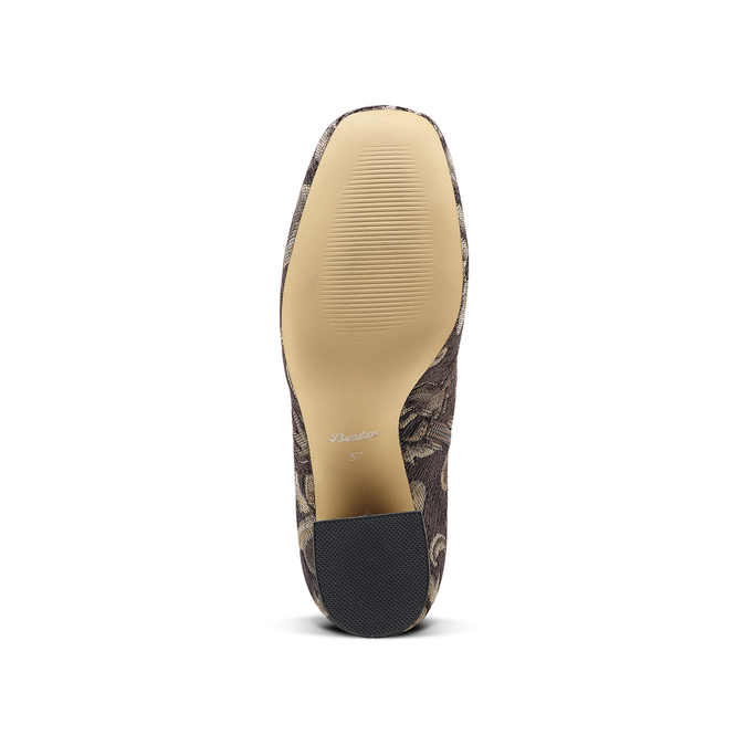 Women's shoes bata, Brun, 799-4171 - 17