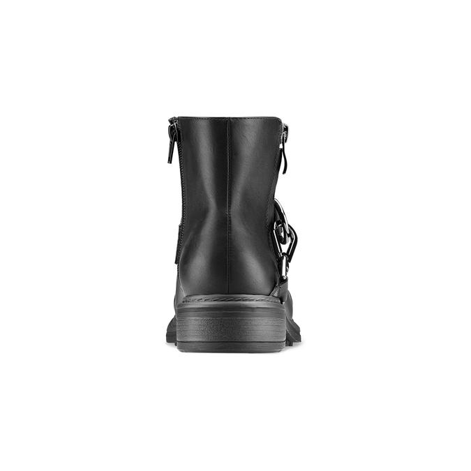 Women's shoes bata, Noir, 591-6155 - 16
