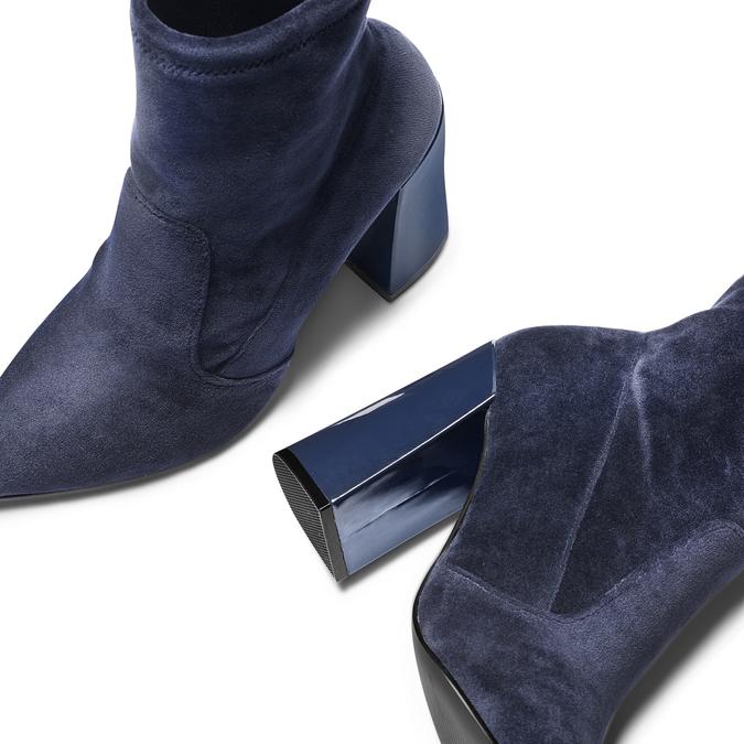 Women's shoes bata, Bleu, 799-9648 - 19