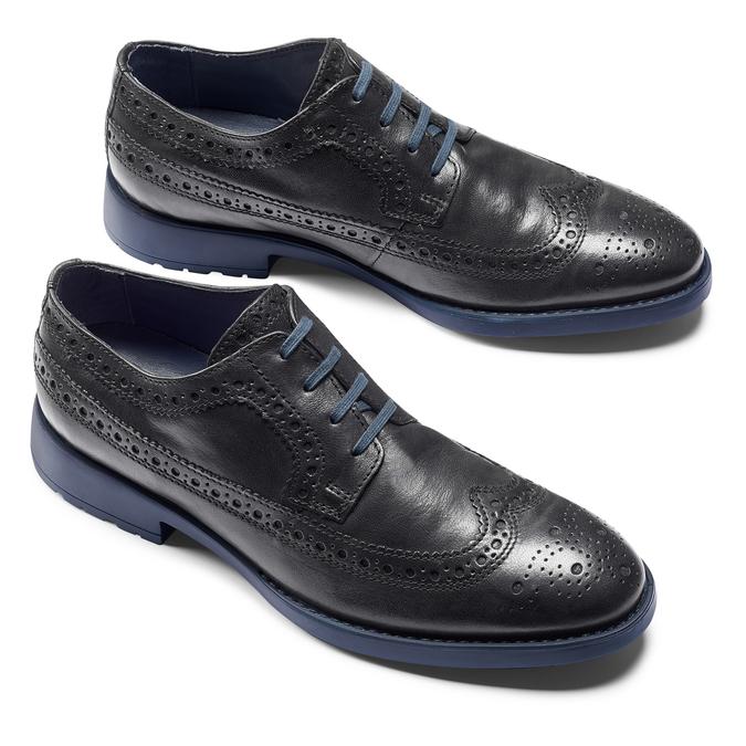 Men's shoes bata-light, Noir, 824-6285 - 19