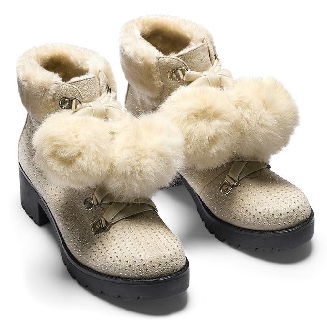 BATA Chaussures Femme bata, Jaune, 699-8119 - 15