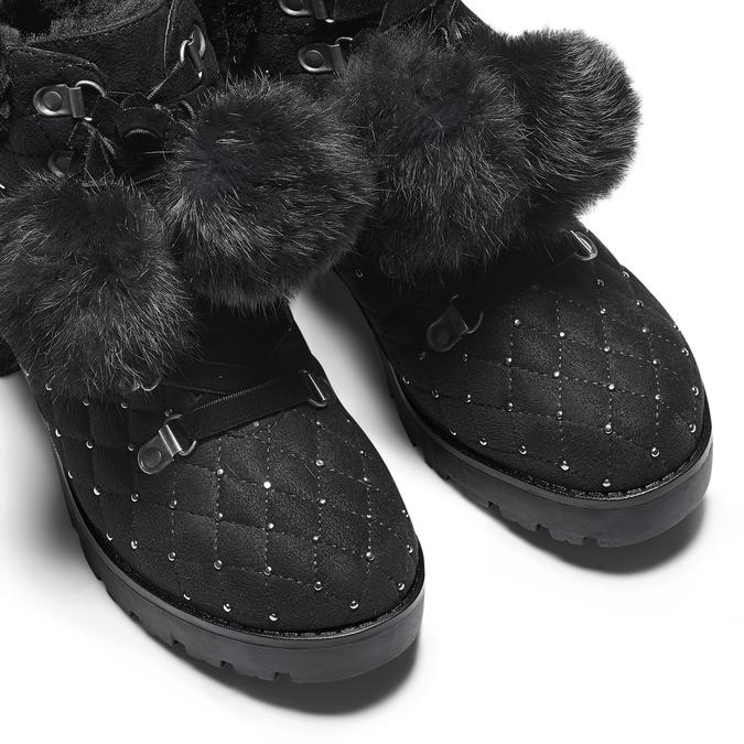 Women's shoes bata, Noir, 699-6100 - 15