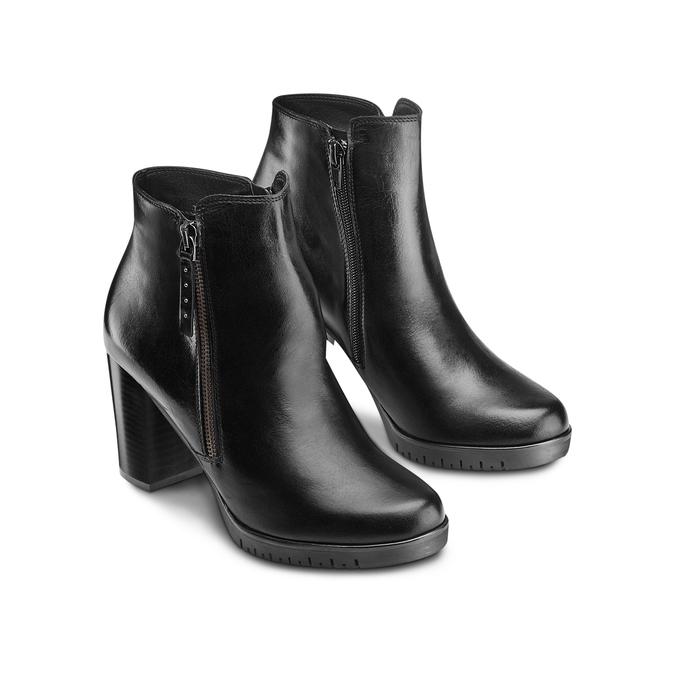 Women's shoes bata, Noir, 794-6676 - 16